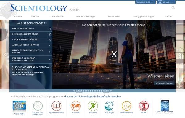 Vorschau von www.scientology-berlin.org, Scientology Kirche Berlin