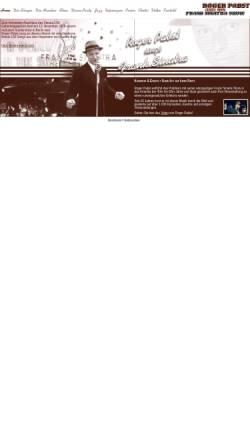 Vorschau der mobilen Webseite www.rogerpabst.de, Roger Pabst and his Frank Sinatra Show