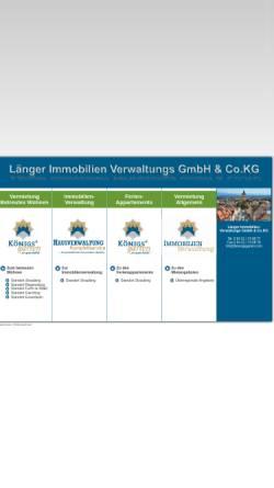 Vorschau der mobilen Webseite www.wohnen-im-koenigsgarten.de, Betreutes Wohnen Königsgarten