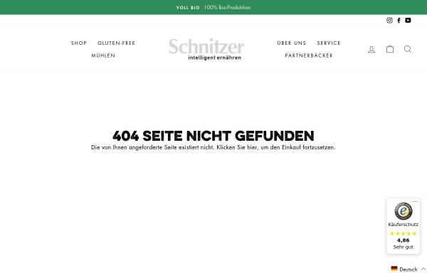 Vorschau von www.schnitzerbraeu.de, Schnitzerbräu GmbH & Co. KG