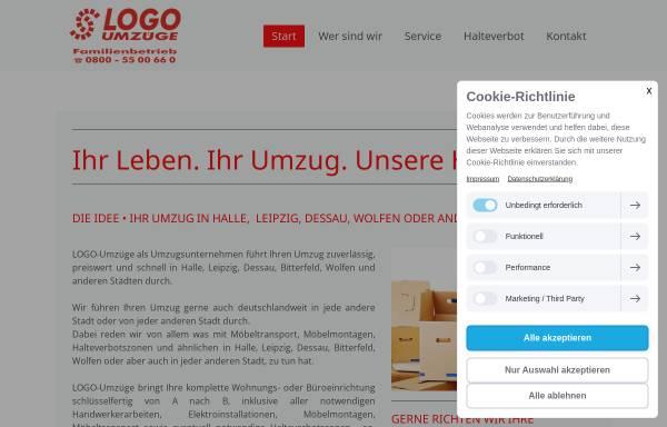 Vorschau von www.logo-umzuege.de, Logo-Umzüge