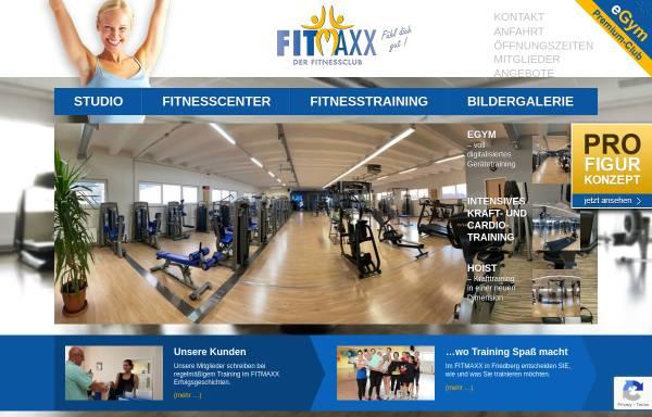 Vorschau von www.fitmaxx-gmbh.de, Fitmaxx Friedberg