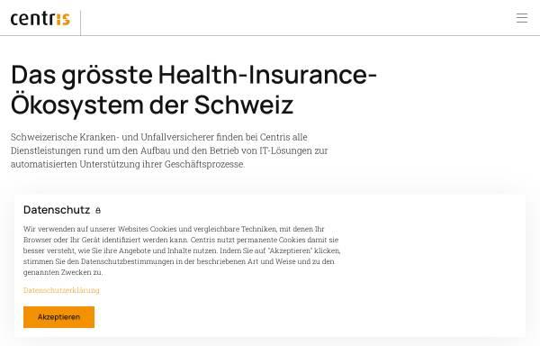Vorschau von www.centrisag.ch, Centris AG