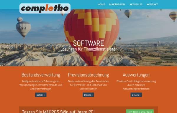 Vorschau von www.completho.de, Completho Software GmbH