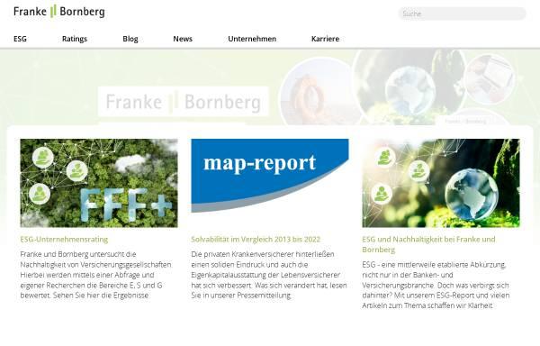 Vorschau von www.franke-bornberg.de, Franke und Bornberg GmbH
