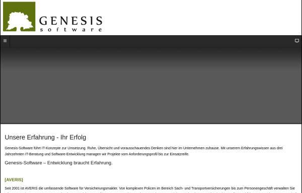 Vorschau von www.averis.info, Genesis-Software GmbH