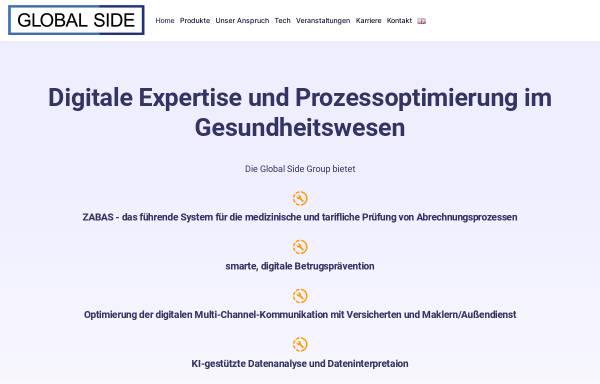 Vorschau von www.globalside.com, Global Side GmbH