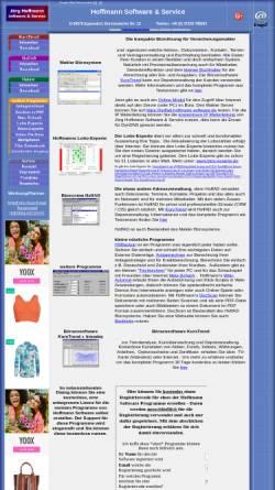 Vorschau der mobilen Webseite www.hoffmann-software.de, Hoffmann Software & Service, Inh. Dipl.-Ing. Jörg Hoffmann