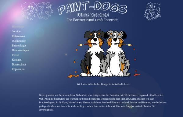 Vorschau von www.paint-dogs.de, Paint-Dogs