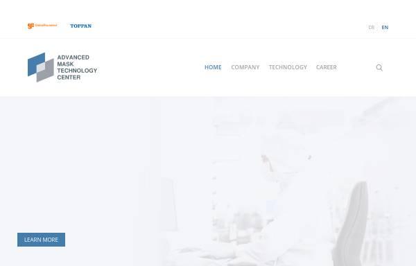 Vorschau von www.amtc-dresden.com, AMTC Advanced Mask Technology Center GmbH & Co. KG