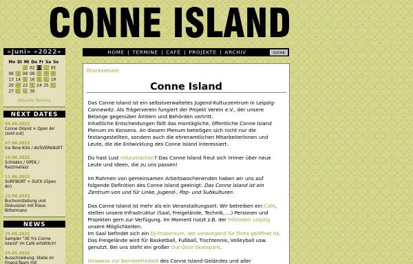 Vorschau von www.conne-island.de, Conne Island
