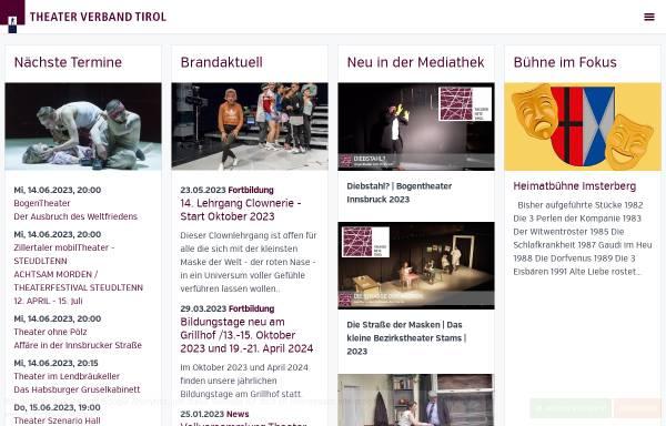 Vorschau von www.theaterverbandtirol.at, Theater Verband Tirol
