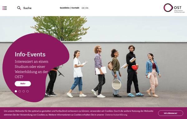 Vorschau von gis.hsr.ch, GISpunkt der HSR Hochschule für Technik Rapperswil