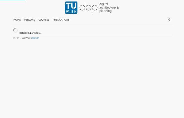 Vorschau von www.iemar.tuwien.ac.at, IEMAR - Institut für EDV-Gestützte Methoden in Architektur und Raumplanung