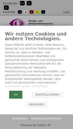Vorschau der mobilen Webseite bf-bildung.de, Büro für Barrierefreie Bildung