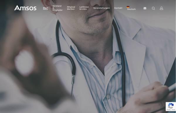 Vorschau von www.amsos.at, Österreichische Gesellschaft für Tumororthopädie