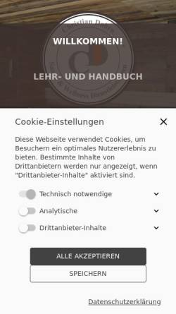 Vorschau der mobilen Webseite ausbildung-zum-saunameister.de, Christian Dohrn