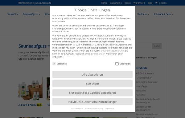Vorschau von www.sauna-ratgeber.de, Sauna Ratgeber