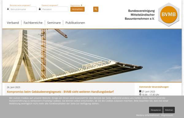 Bauunternehmen Bonn bundesvereinigung mittelständischer bauunternehmen e v bonn