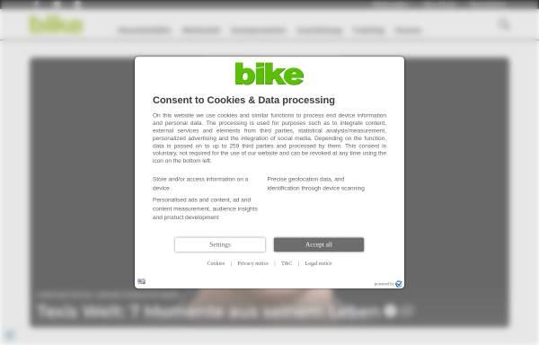 Vorschau von www.bike-magazin.de, Bike