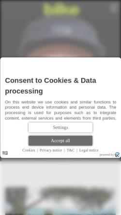 Vorschau der mobilen Webseite www.bike-magazin.de, Bike
