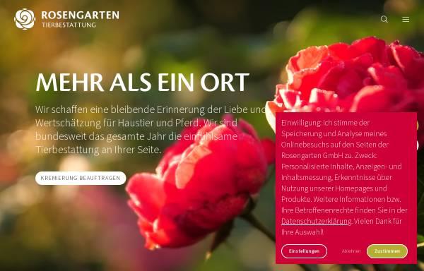 Vorschau von www.kleintierkrematorium.de, Kleintierkrematorium Im Rosengarten GmbH
