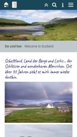 Vorschau der mobilen Webseite www.familie-nass.de, Abenteuer Schottland [Mike Nass]