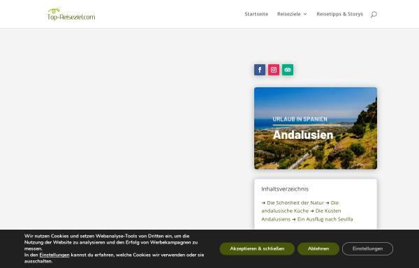 Vorschau von www.andalusien-reisebericht.de, Andalusien-Reisebericht [Stefan Ganz]