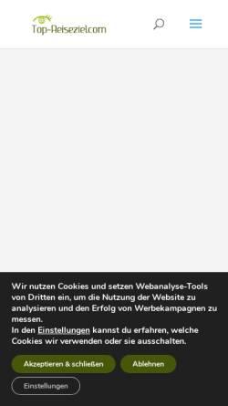 Vorschau der mobilen Webseite www.andalusien-reisebericht.de, Andalusien-Reisebericht [Stefan Ganz]