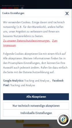 Vorschau der mobilen Webseite www.boehlau-verlag.com, Böhlau Verlag Ges.m.b.H. & Co. KG