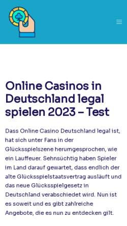 Vorschau der mobilen Webseite www.primusverlag.de, Primus Verlag GmbH