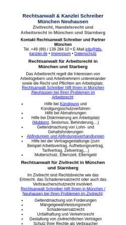 Vorschau der mobilen Webseite www.rechtsanwalt-eder.de, Eder Günther