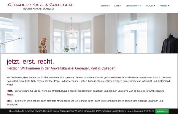 Vorschau von www.rechtsanwalt-muehldorf.de, Gebauer, Dr. Haugg & Coll.