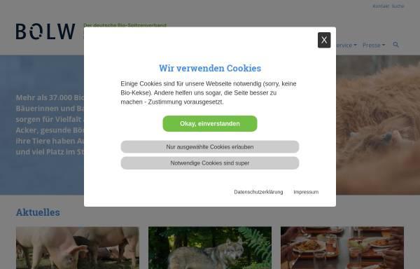 Vorschau von www.boelw.de, Bund Ökologische Lebensmittelwirtschaft