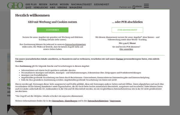 Vorschau von www.geo.de, GEO.de