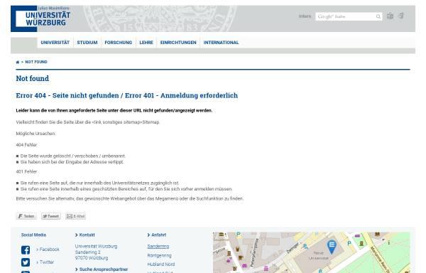 Vorschau von www-organik.chemie.uni-wuerzburg.de, Stoff- und tätigkeitsbezogene Betriebsanweisungen - Universität Würzburg