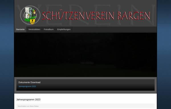 Vorschau von www.svbargen.ch, Schützenverein Bargen