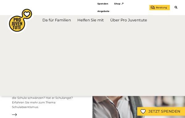 Vorschau von www.projuventute.ch, Pro Juventute