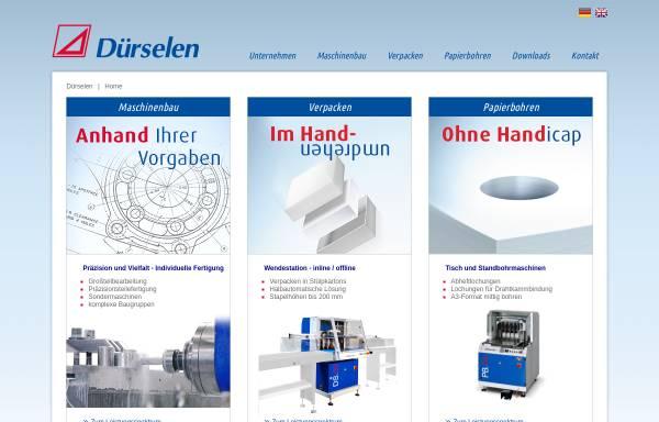 Vorschau von www.duerselen.de, Dürselen GmbH