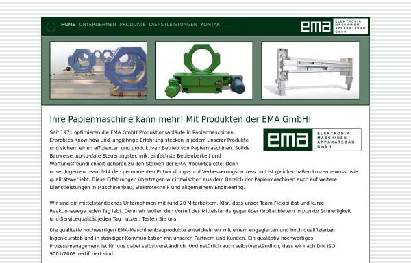 Vorschau von www.ema-gmbh.com, EMA GmbH