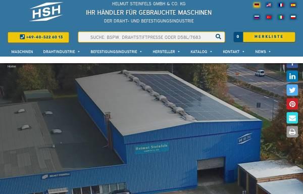 Vorschau von www.steinfels-kg.de, Helmut Steinfels GmbH & Co. KG