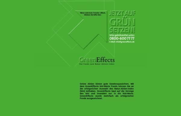 Vorschau von www.greeneffects.de, GreenEffects
