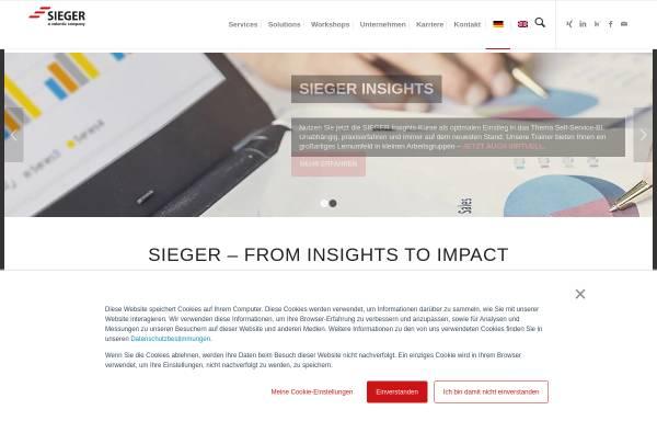 Vorschau von www.sgc.de, SieGer Consulting GmbH & Co.KG