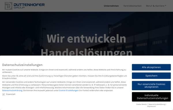 Vorschau von www.duttenhofer.de, Duttenhofer GmbH & Co. KG