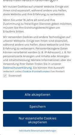 Vorschau der mobilen Webseite www.duttenhofer.de, Duttenhofer GmbH & Co. KG