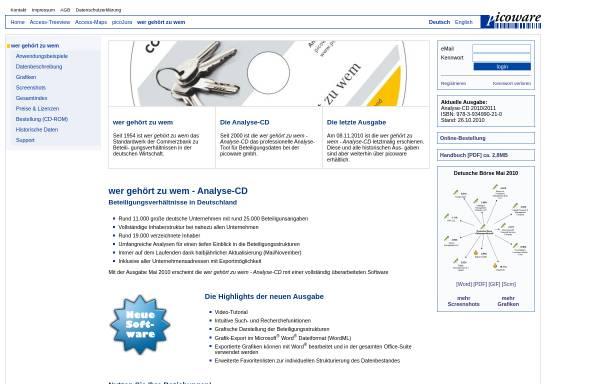 Vorschau von www.picoware.de, Wer gehört zu wem?