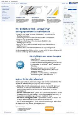 Vorschau der mobilen Webseite www.picoware.de, Wer gehört zu wem?