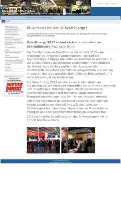 Vorschau der mobilen Webseite www.solarenergy-berlin.de, Solarenergy-berlin.de