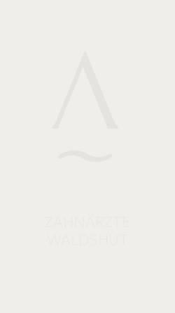 Vorschau der mobilen Webseite www.dr-lentzsch.de, Dr. Johannes Lentzsch