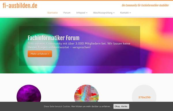 Vorschau von fi-ausbilden.de, FI-ausbilden.de
